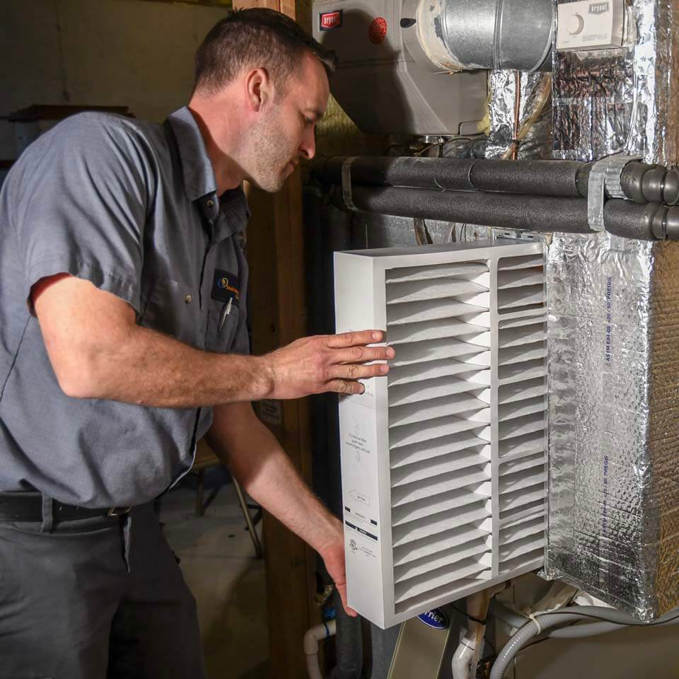 heating repair technician